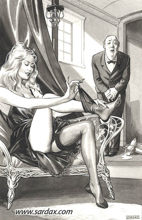 Sardax — The butler — рисунок №155