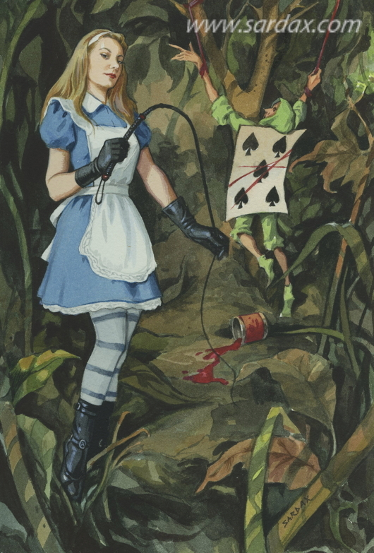 Sardax — Alice in Wonderland I — рисунок №1047